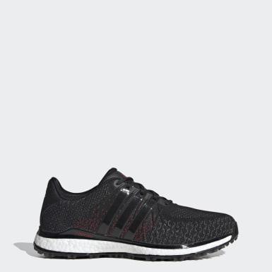 Men Golf Black TOUR360 XT-SL Spikeless Textile Golf Shoes
