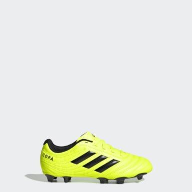 желтый Футбольные бутсы Copa 19.4 FG