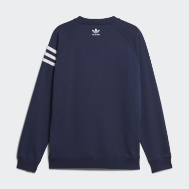 Men Originals Blue Human Made Sweatshirt