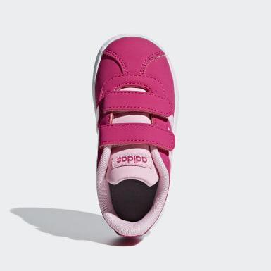 Meisjes Skateboarden roze VL Court 2.0 Schoenen