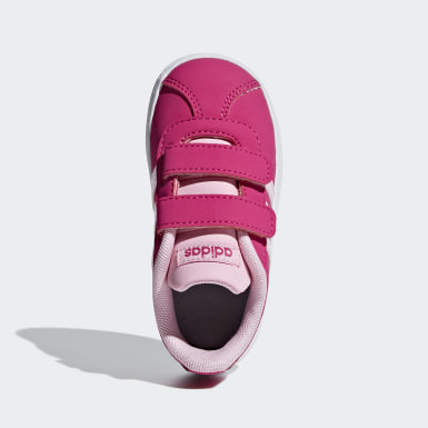 Girls Skateboarding Pink VL Court 2.0 Shoes