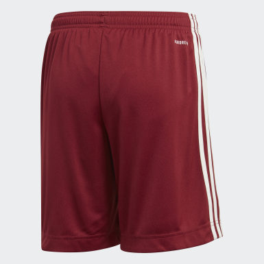 Youth 8-16 Years Football Burgundy Arsenal 20/21 Away Shorts