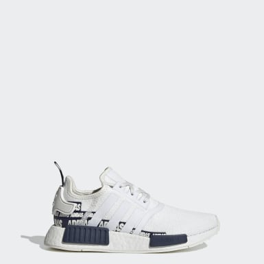 Kids Originals White NMD_R1 Shoes