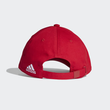 ฟุตบอล สีแดง หมวกเบสบอล Manchester United