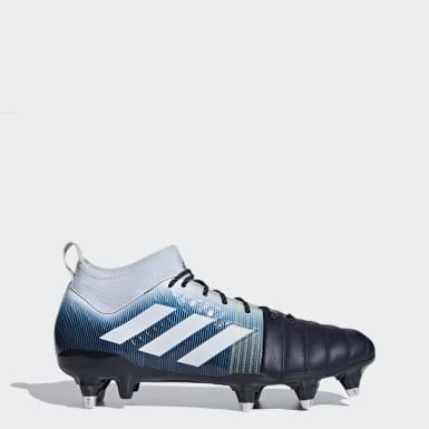 Men's Rugby Blue Kakari X-Kevlar Soft Ground Boots