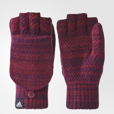 Бордовый Перчатки Classic