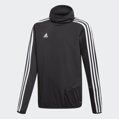 Kids Training Black Tiro 19 Warm Top