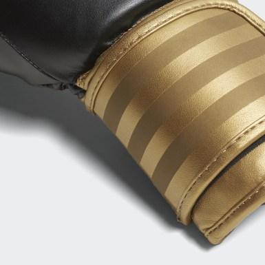 Gants de boxe Hybrid 100 Noir Boxe