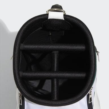 Men Golf White Caddie Bag