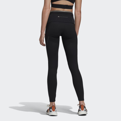 Tight adidas by Stella McCartney TRUEPACE Long Nero Donna adidas by Stella McCartney
