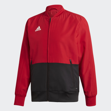Men Training Red Condivo 18 Presentation Track Top