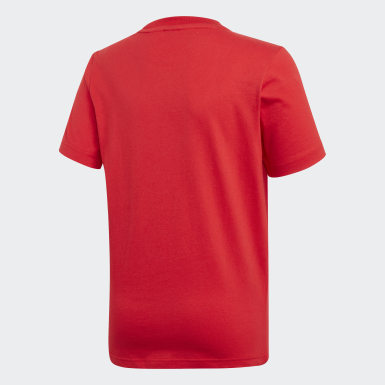 T-shirt Must Haves  Badge of Sport Rosso Ragazzo Yoga