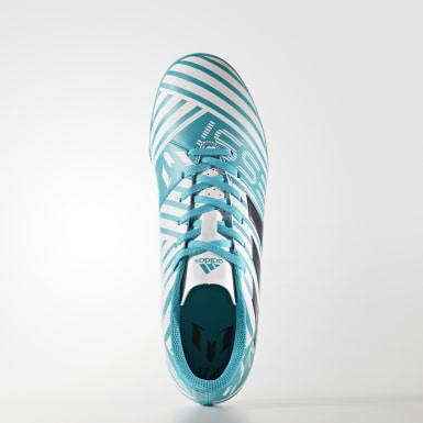 Calzado Nemeziz Messi 17.4 Turf Blanco Hombre Fútbol