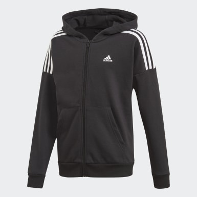 Boys Training Black Tracksuit