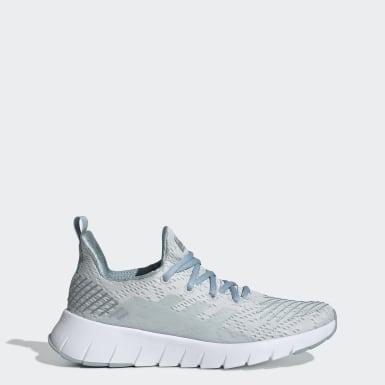 Women Running Blue Asweego Shoes