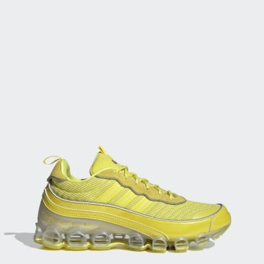 Men Originals Yellow Microbounce T1 Shoes