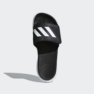 Men's Essentials White Alphabounce Basketball Slides