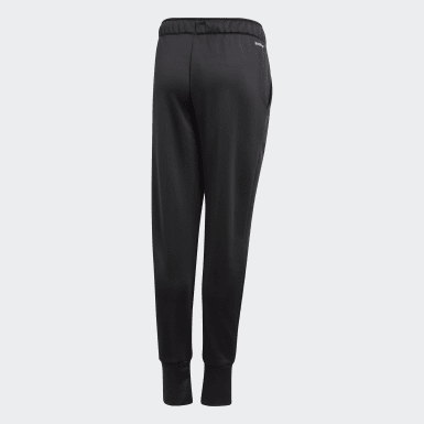Girls Training Black UP2MV AEROREADY Tapered-Leg Pants