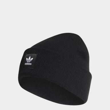 หมวกไหมพรมพับขอบ Adicolor