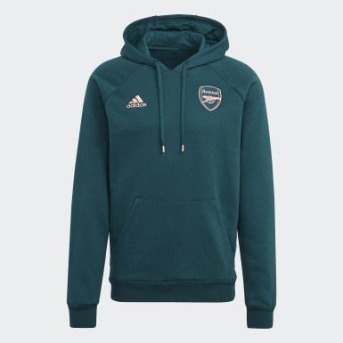 Männer Fußball FC Arsenal Travel Hoodie Grün