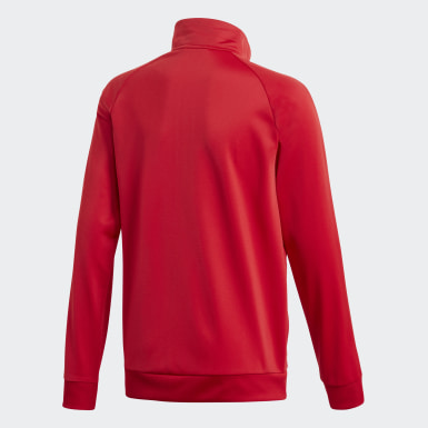 Kids Training Red Core 18 Track Top