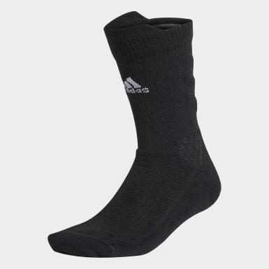 Træning Sort Alphaskin Crew sokker
