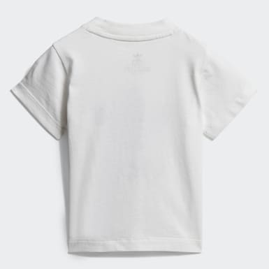 Infant Originals White Trefoil Tee