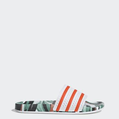 Mænd Originals Hvid Adilette sandaler