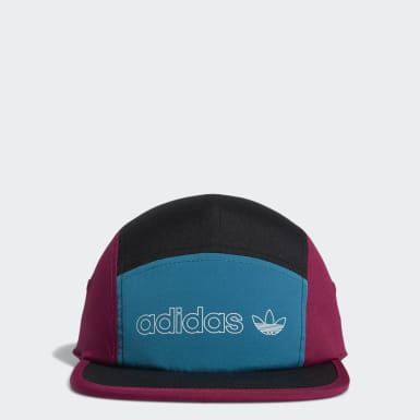 Colorblock Five-Panel Hat