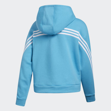 Youth Training Stripe Hoodie