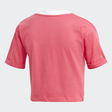 Top Crop Rosa Donna Originals