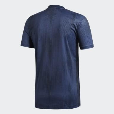 Männer Fußball Manchester United Ausweichtrikot Blau