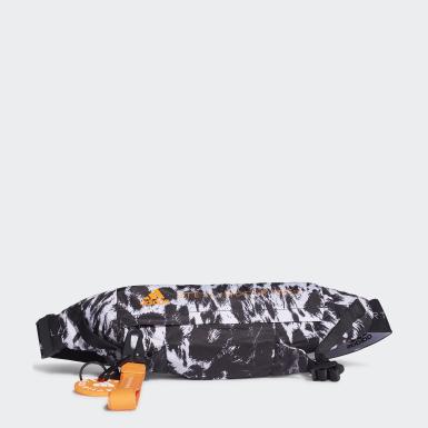 ผู้หญิง adidas by Stella McCartney สีดำ กระเป๋าคาดเอวลายเสือดาว adidas by Stella McCartney