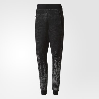 Dames Athletics Zwart adidas Z.N.E. Pulse Knit Broek