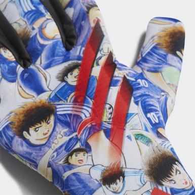 เด็ก ฟุตบอล สีขาว ถุงมือผู้รักษาประตูสำหรับฝึกซ้อม X Captain Tsubasa
