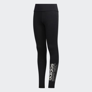 Calzas Brilliant Basics - Tiro Medio Negro Niña Training