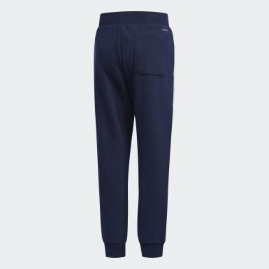 Children Training Blue Striker Pants