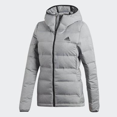 Kvinder Overtøj Med Gadestil Grå Helionic jakke