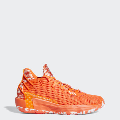 Basketball Orange Dame 7 I Am My Own Fan Shoes