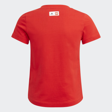 T-shirt adidas x Classic LEGO® Graphic Rosso Ragazza Training