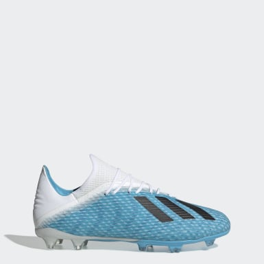 Men Football Turquoise X 19.2 Firm Ground Boots