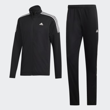 Men Athletics Black Team Sports Track Suit