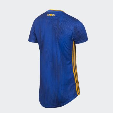 Jersey Visitante Tigres UANL Azul Mujer Fútbol