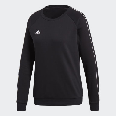 CORE18 SW TOP W Negro Mujer Fútbol