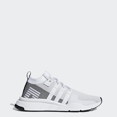 EQT SUPPORT MID ADV PRIMEKNIT SHOES Sneakers hoog white