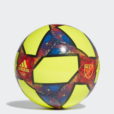 Men Football Yellow MLS Capitano Ball