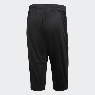 Heren Training Zwart Core 18 3/4 Broek