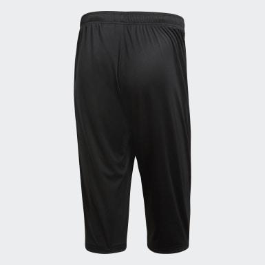 Pantaloni 3/4 Core 18 Nero Uomo Training