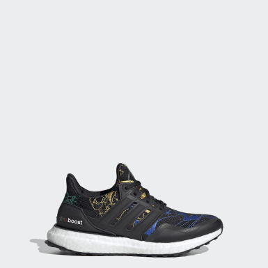 Youth 8-16 Years Running Black Ultraboost 20 Running Shoes