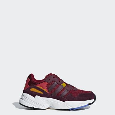 Youth Originals Burgundy Yung-96 Shoes